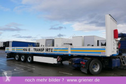 Krone dropside flatbed semi-trailer SDP 27 / BAUSTOFF TWISTLOCK CONTAINER