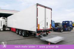 Yarı römork Schmitz Cargobull SKO 24/ LBW 2000 kg / BLUMEN / DS / LENKACHSE izoterm ikinci el araç