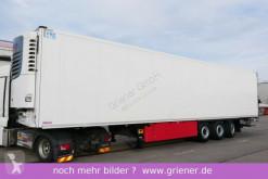 Schmitz Cargobull refrigerated semi-trailer SKO 24/ LBW 2000 kg / BLUMEN / DS / LENKACHSE