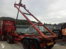 Návěs Krone 20 ft Kippchasis Elektrohydraulisch blattgefedert nosič kontejnerů použitý