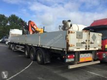 Lecitrailer flatbed semi-trailer plateau GRUE PK15500