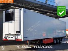 Trailer Krone Carrier Vector 1550 Doppelstock Palettenkasten Liftachse tweedehands koelwagen mono temperatuur