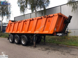 Semi remorque Schwarzmüller kipper Steel chassis and steel loading platform, Disc bra benne occasion
