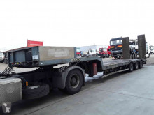 Trailor heavy equipment transport semi-trailer Oplegger TOp shape francais