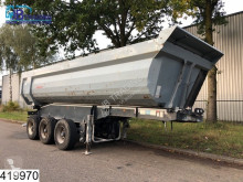 Yarı römork damper Schwarzmüller kipper Steel chassis and steel loading platform, Damage trailer
