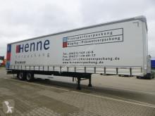 Semirimorchio Krone Schiebeplanen Sattelauflieger SZP 18 eLB4-CS centinato alla francese usato