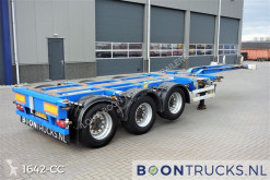 Trailer Pacton T3-010 | 2x20-30-40-45ft HC * MULTI CHASSIS tweedehands containersysteem