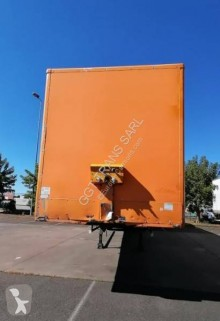 Trouillet semi-trailer used box