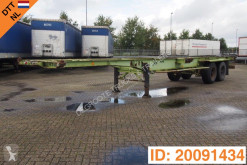 Van Hool container semi-trailer 2 x 20-40 ft skelet