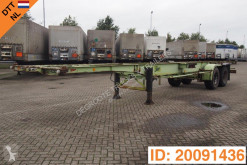 Trailer Van Hool 2 x 20-40 ft skelet tweedehands containersysteem