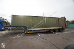 MOL heavy equipment transport semi-trailer SEMI LOW LOADER WITH RAMPS