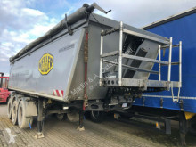 Meiller Kipper Thermomulde 27m³ KISA3 ALU Unfallschaden semi-trailer used tipper