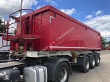 Semi remorque Carnehl Kipper ALU 28 m³ 5190 kg Leer 3 Achsen 1 Lifta. benne occasion