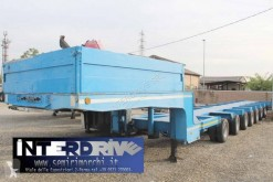 Capperi carrellone eccezionale 8assi usato semi-trailer used heavy equipment transport