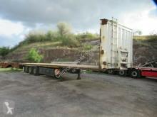 Semirremolque Krone Plateau, Containerverriegelung, Rungen, Lift caja abierta teleros usado
