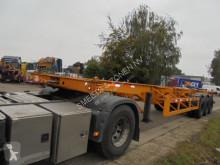 Návěs nosič kontejnerů Oplegger NEWsteel/NEUF lames /neublatt