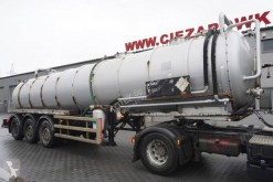 Wabco Whale Tankers S.S VAC , ADR ,30.000l , vacuum pomp semi-trailer used chemical tanker