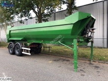Robuste Kaiser kipper Steel chassis and steel loading platform semi-trailer used tipper