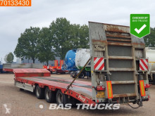 Fliegl SDS 480T Hydr. Ramps semi-trailer used heavy equipment transport
