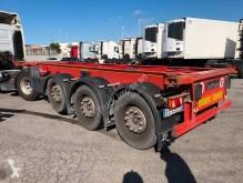 Lecitrailer konténerszállító félpótkocsi