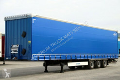 Semi reboque Krone CURTAINSIDER/MEGA/LOW DECK/LIFTED ROOF&AXLE/BDE/ caixa aberta com lona usado