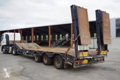 Asca SREM PE 3 Essieux PTAC 54 T semi-trailer used heavy equipment transport