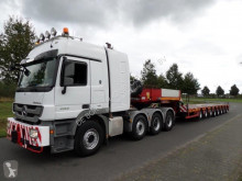 Полуремарке Faymonville F-S48-1AAA Extendable Semi Low Loader превоз на строителна техника втора употреба