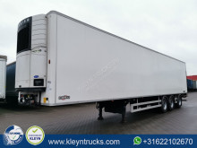 Chereau mono temperature refrigerated semi-trailer TAILLIFT last axle steering