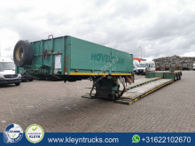 Faymonville STBZ-3VA EURO 6.4m extendable semi-trailer used heavy equipment transport