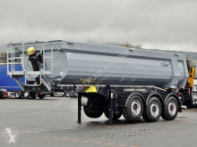Semitrailer Schwarzmüller TIPPER 27 M3 / WHOLE STEEL / BRAND NEW / flak begagnad