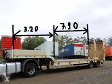Kaiser Tieflader semi-trailer used heavy equipment transport