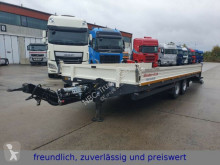 Möslein heavy equipment transport semi-trailer * TTS 11 * 2 ACHS TIEFLADER MIT RAMPE **