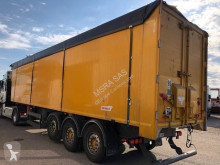 Benalu alu renforcé semi-trailer used scrap dumper