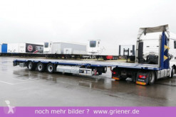HRD MEGA PLATEAU TIEFLADER 960 mm AZB LENKACHSE semi-trailer used heavy equipment transport