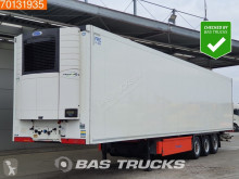 Semi remorque Krone Carrier Vector 1550 Doppelstock Liftachse Palettenkasten frigo mono température occasion