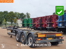 Cimc SC03 2x20-1x3-1x40 Ft. Liftachse semi-trailer used container
