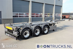 Semi remorque porte containers OPS/3AT/39-03BSRM | 2x20-30-40-45ft * NEW CONDITION * MOT 06-2021