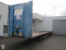 Van Hool , BPW , Disc brakes , Air suspension , Mega Flat trailer semi-trailer used flatbed