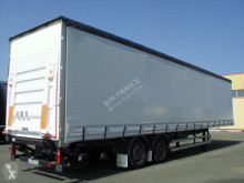 Yarı römork Fruehauf SR SAVOYARDE tenteli platform ikinci el araç