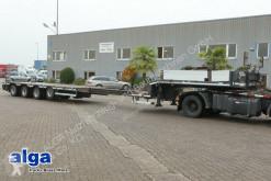 HRD heavy equipment transport semi-trailer ausziehbar, verbreiterbar, gelenkt, liftachse