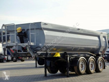 Naczepa Schwarzmüller TIPPER 27 M3 / WHOLE STEEL /LIFTED AXLE/LIKE NEW wywrotka używana