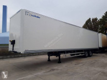 Semirimorchio furgone plywood / polyfond Lecitrailer Courier