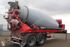 De Buf semi-trailer used concrete mixer concrete