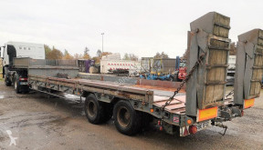 Robuste Kaiser ORIGIGNAL 2 ESSIEUX semi-trailer used heavy equipment transport