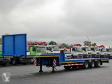 Semi remorque porte engins Lintrailers LOW LOADER/EXTENDABLE - 18,5 M/ 3 STEERING AXLES