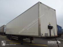 Félpótkocsi Samro Fourgon express Hayon használt furgon