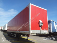 Samro Fourgon express Porte relevante Hayon semi-trailer used box