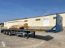 Montenegro plataforma portacontenedor 45-40-2x20 semi-trailer used flatbed