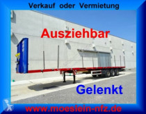 Návěs nosič strojů 3 Achs Tele- Sattelauflieger, 4,20 m ausziehbar