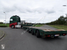 Faymonville STZ- 3A Extendable semi low loader semi-trailer used heavy equipment transport